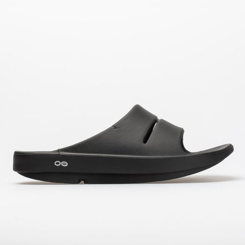 Oofos OOahh: Oofos Men's Sandals & Slides Black