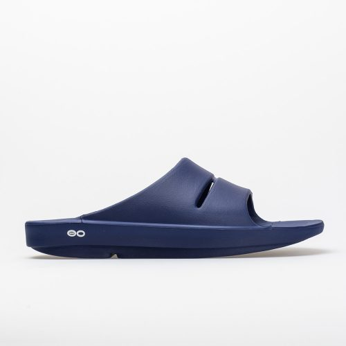 Oofos OOahh: Oofos Men's Sandals & Slides Navy