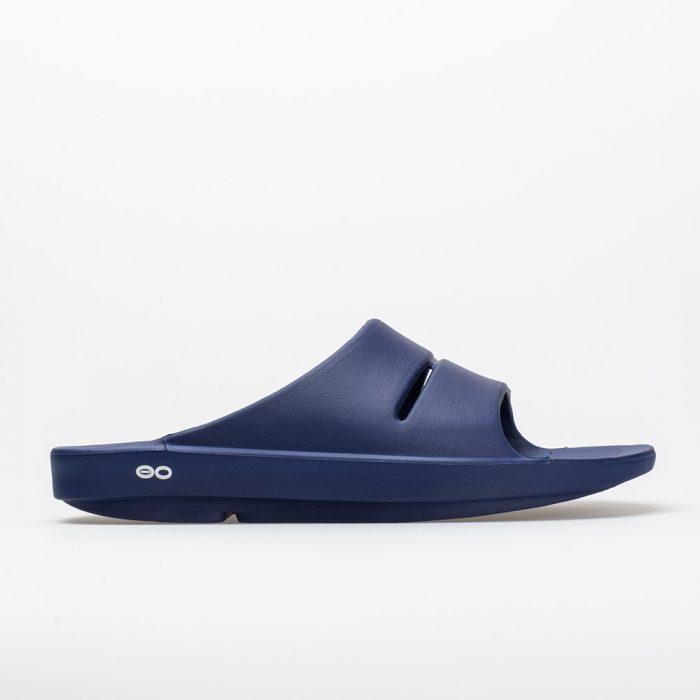 Oofos OOahh: Oofos Men's Sandals & Slides Navy