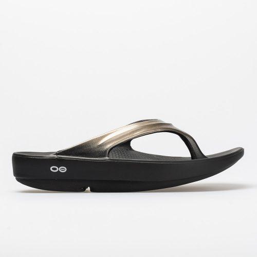 Oofos OOlala: Oofos Women's Sandals & Slides Black/Latte