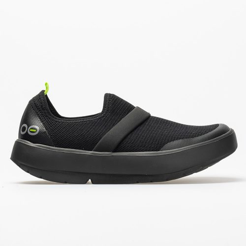 Oofos OOmg Low: Oofos Women's Walking Shoes Black/Black