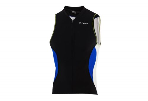 Orca Core Tri Tank - Men's - black/royal blue, large