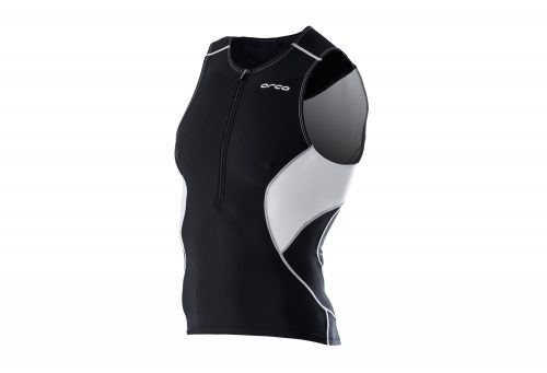 Orca Core Tri Tank - Men's - black/white, medium