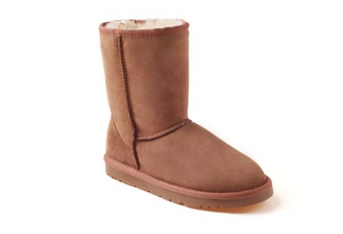 Ozwear Genuine Sheepskin 3/4 Boots - Women's - chestnut, 10.5-11
