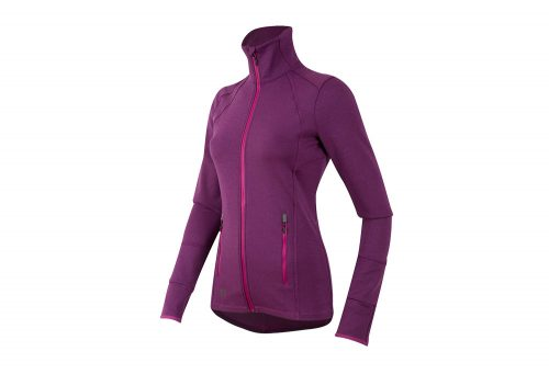 Pearl Izumi Escape Thermal Full-Zip Run Top - Women's - purple wine, small