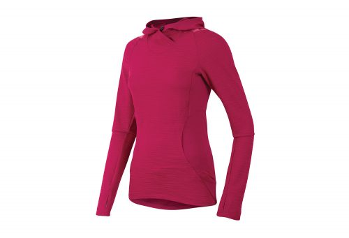 Pearl Izumi Flash Hoody - Women's - cerise/honeysuckle, small