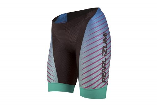 Pearl Izumi P.R.O. In-R-Cool Tri Short - Women's - black/aqua fade, small