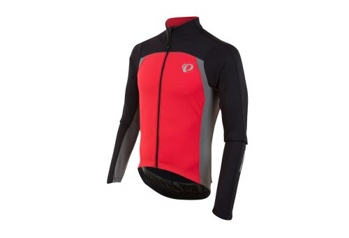 Pearl Izumi P.R.O. Pursuit Thermal Long Sleeve Jersey - Men's - black/true red, xx-large