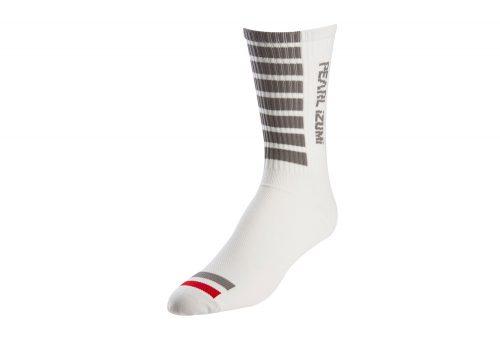 Pearl Izumi Pro Tall Socks - white, medium