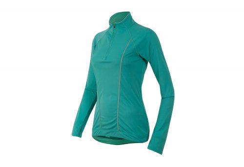 Pearl Izumi Pursuit Long Sleeve - Women's - viridian green/aqua mint, large