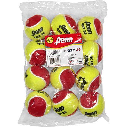 Penn QST 36 Felt 12 Pack: Penn Tennis Balls