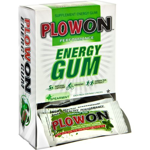 Plow On Energy Gum 12 Pack: Plow On Nutrition