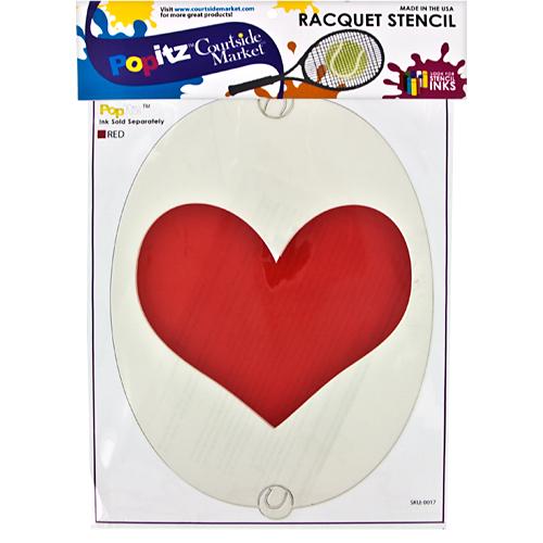 Popitz Stencil: Courtside Marketing Stencil Ink