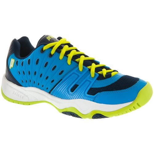 Prince T22 Junior Cool Blue/Lime: Prince Junior Tennis Shoes