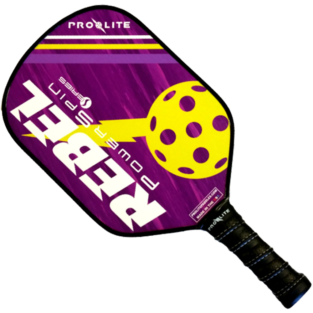 Pro-Lite Rebel PowerSpin Paddle: Pro Lite Sports Pickleball Paddles