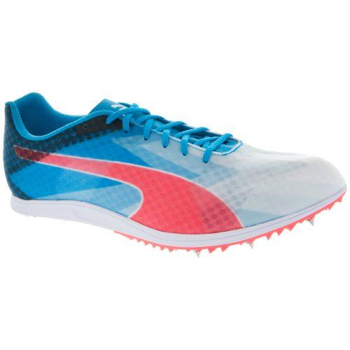 Puma evoSPEED Distance V6 White/Atomic Blue/Red Blast: PUMA Running Shoes