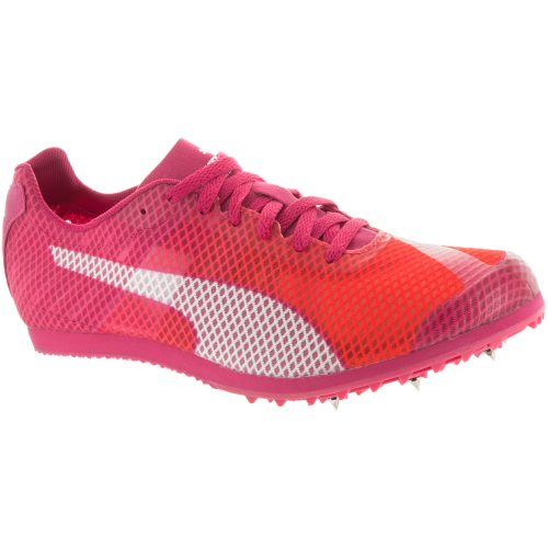 Puma evoSPEED Star V4: PUMA Women's Running Shoes Fluo Peach/Rose Red/White