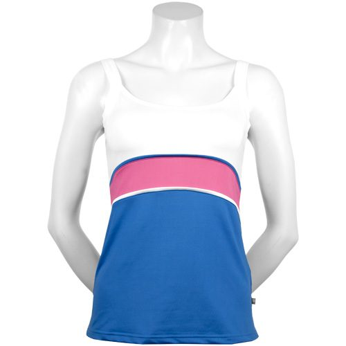 Pure Lime Summer Breeze Cami Top: Pure Lime Women's Tennis Apparel