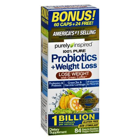 Purely Inspired Probiotics & Weight Loss - 84 ea