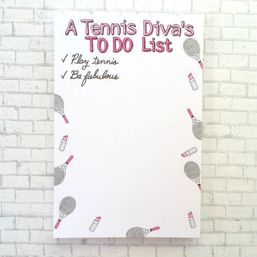 Racquet Smash To Do List: Racquet Smash Tennis Gifts & Novelties