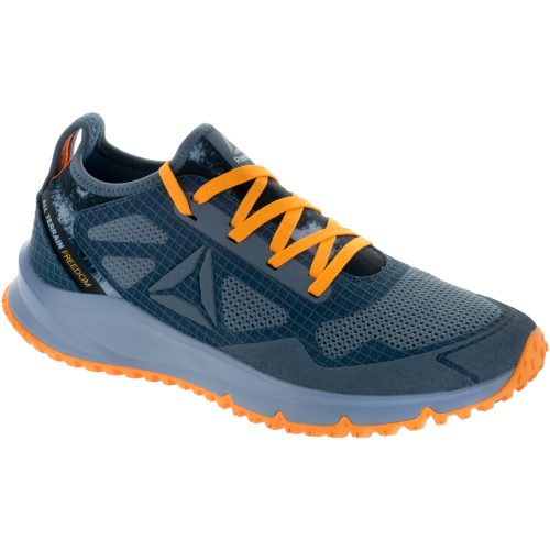 Reebok All Terrain Freedom: Reebok Women's Running Shoes Stonewash/Grey/Fire Spark/Silver