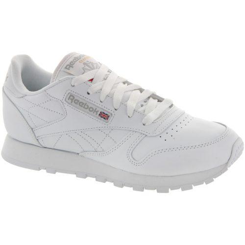 Reebok Classic Leather: Reebok Women's Running Shoes White