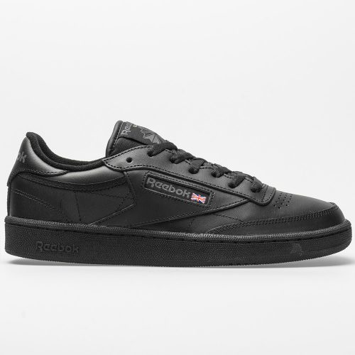 Reebok Club C 85: Reebok Men's Tennis Shoes Black/Charcoal