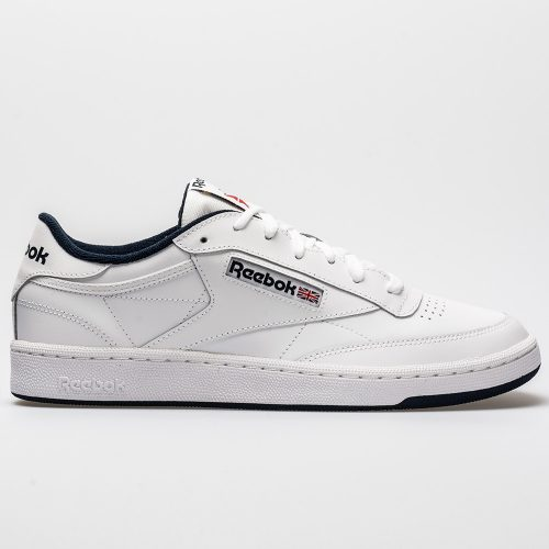 Reebok Club C 85: Reebok Men's Tennis Shoes White/Navy