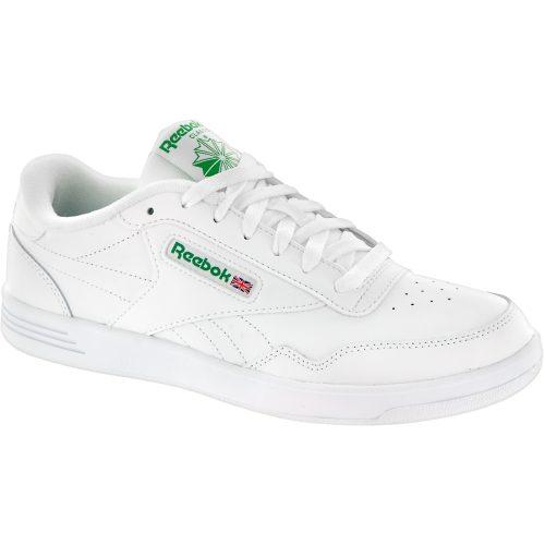 Reebok Club MEMT: Reebok Men's Tennis Shoes White/Glen Green