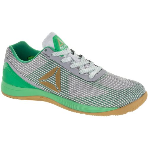 Reebok CrossFit Nano 7.0 ST Patricks Day Pack: Reebok Men's Training Shoes Wht/Grn/Bras/Gry