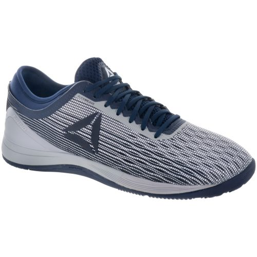 Reebok CrossFit Nano 8 Flexweave: Reebok Men's Training Shoes White/Navy/Grey