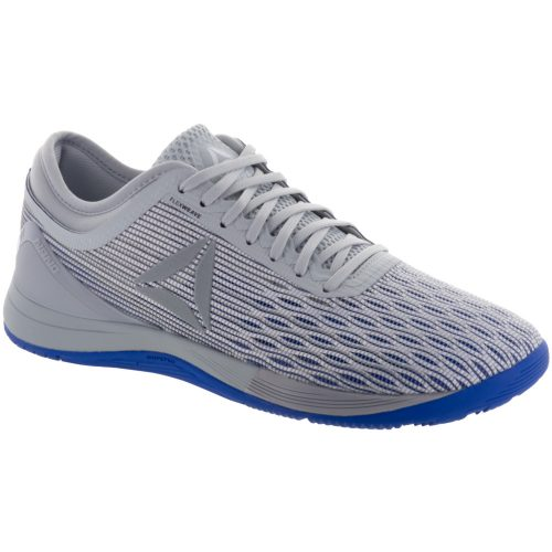 Reebok CrossFit Nano 8: Reebok Men's Training Shoes White/Stark Grey/Skull Gret/Acid Blue