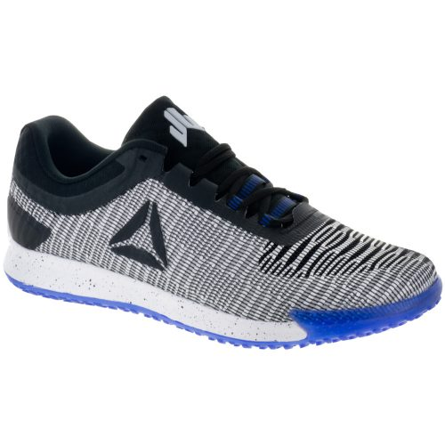 Reebok JJ II Low: Reebok Men's Training Shoes White/Black/Acid Blue