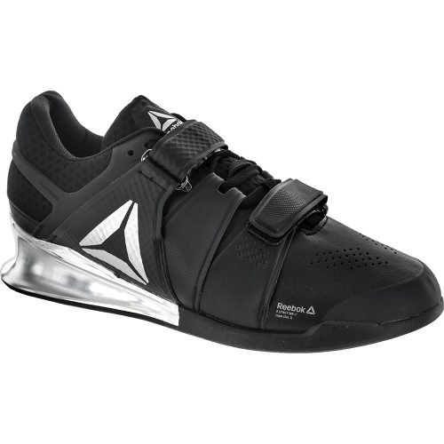Reebok Legacy Lifter: Reebok Men's Training Shoes Black/White/Silver