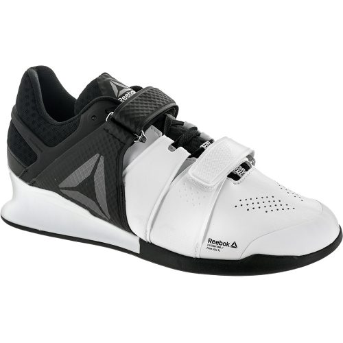 Reebok Legacy Lifter: Reebok Men's Training Shoes White/Black/Pewter