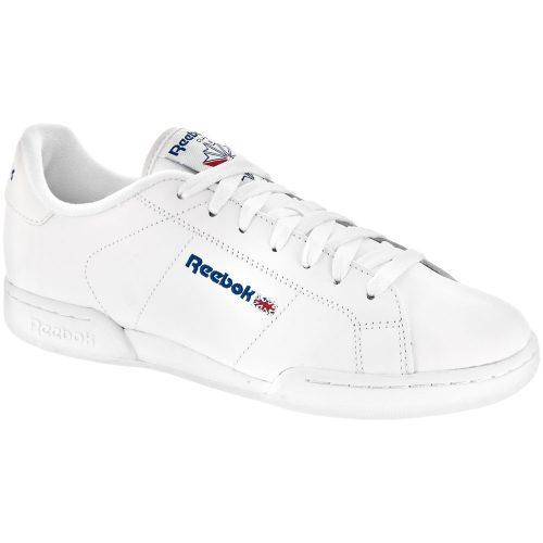Reebok NPC II: Reebok Men's Tennis Shoes White/White