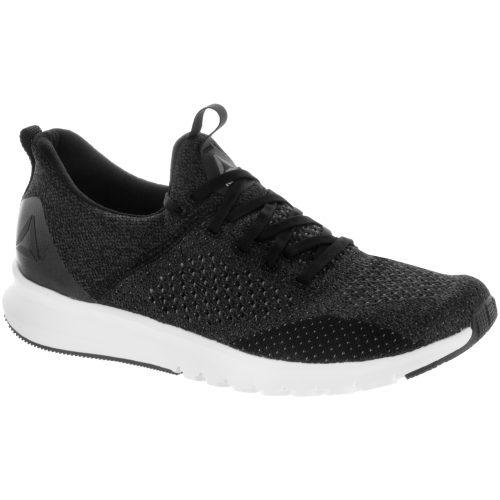Reebok Print Premier ULTK: Reebok Men's Running Shoes Black/Lead/Asteroid Dust/White