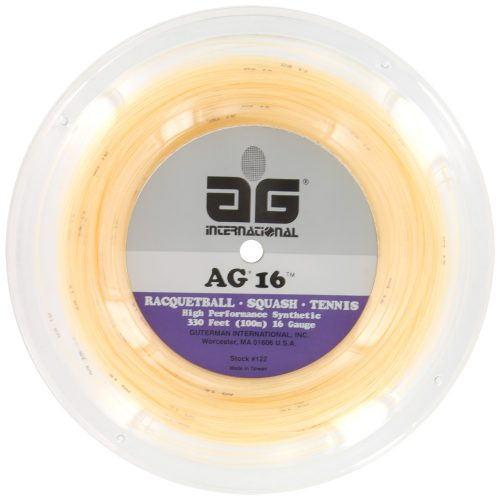 Reel - AG Synthetic Gut 16G 330': AG International Tennis String Reels