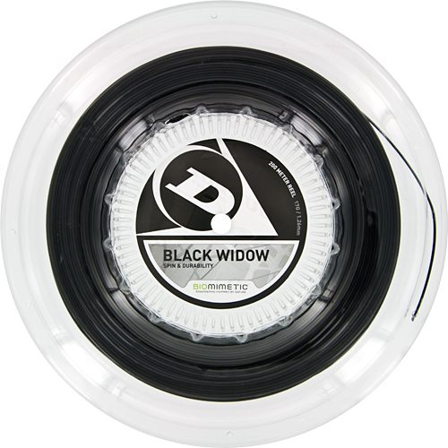Reel - Dunlop Black Widow 17: Dunlop Tennis String Reels