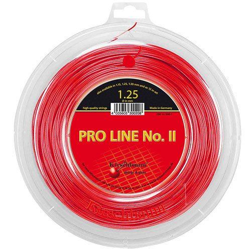 Reel - Kirschbaum Pro Line II 17 1.25 660 Red: Kirschbaum Tennis String Reels