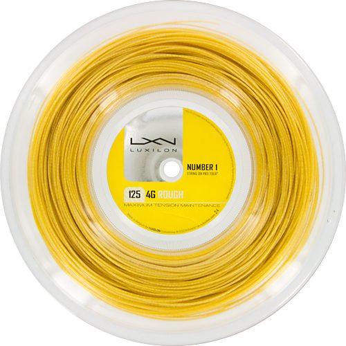 Reel - Luxilon 4G Rough 125: Luxilon Tennis String Reels