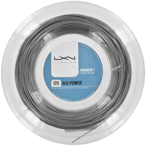 Reel - Luxilon Big Banger ALU Power 16L Silver 330: Luxilon Tennis String Reels