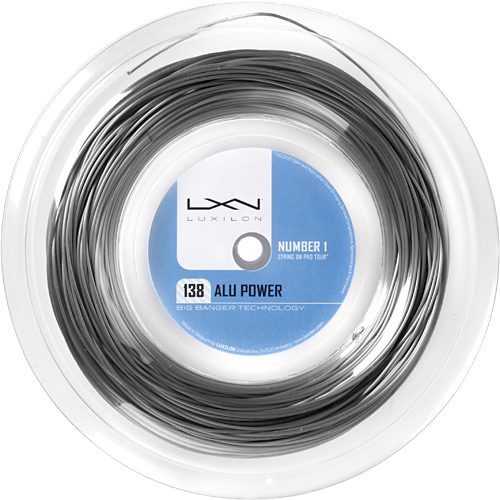 Reel - Luxilon Big Banger Alu Power 138: Luxilon Tennis String Reels