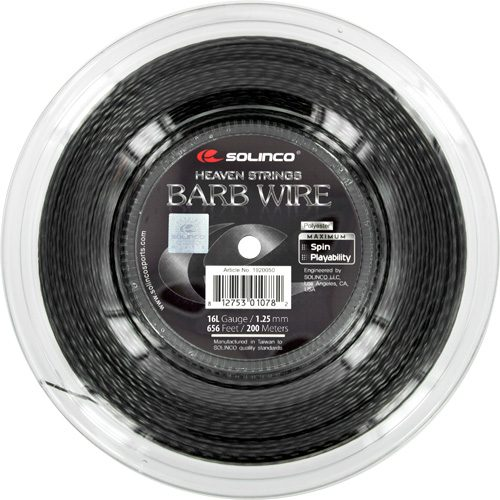 Reel - Solinco Barb Wire 16L 1.25 656: Solinco Tennis String Reels
