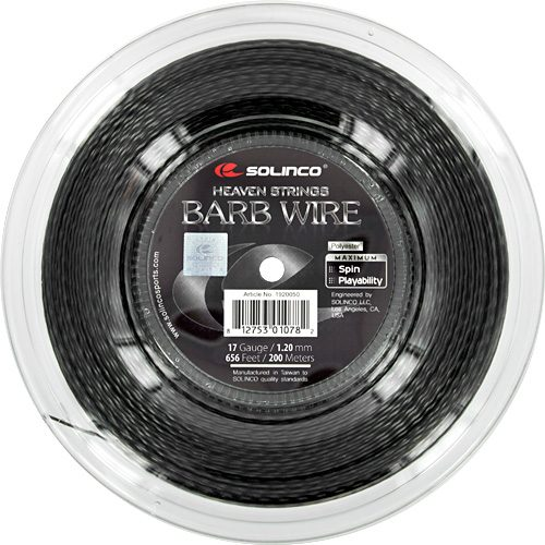 Reel - Solinco Barb Wire 17 1.20 656: Solinco Tennis String Reels
