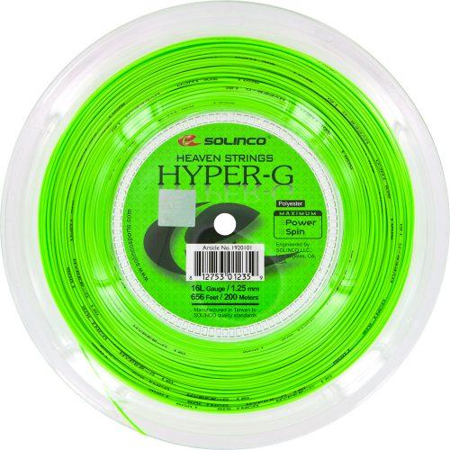 Reel - Solinco Hyper-G 16L 1.25: Solinco Tennis String Reels