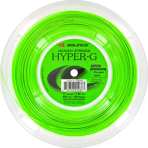 Reel - Solinco Hyper-G 17 1.20: Solinco Tennis String Reels