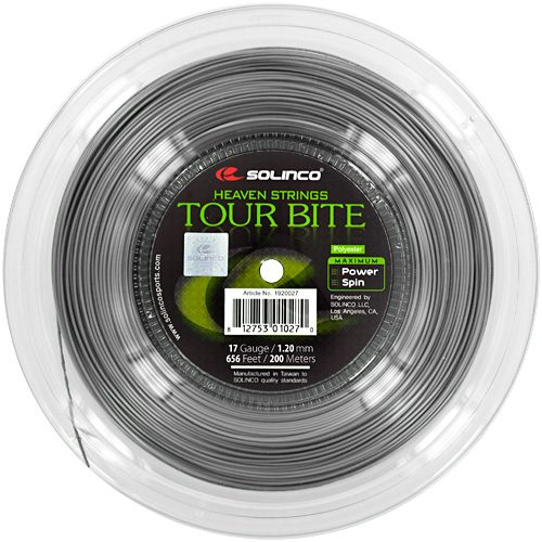 Reel - Solinco Tour Bite 17 1.20 656: Solinco Tennis String Reels