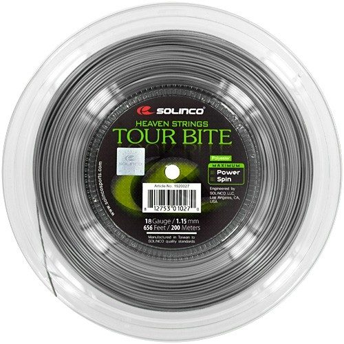Reel - Solinco Tour Bite 18 1.15 656: Solinco Tennis String Reels