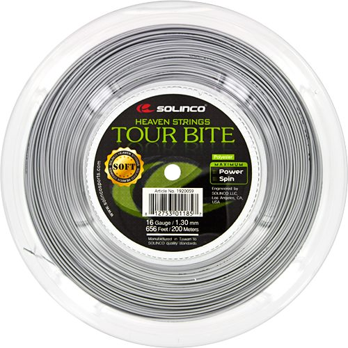 Reel - Solinco Tour Bite Soft 16 1.30 660: Solinco Tennis String Reels